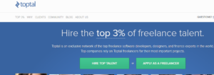 toptal freelance jobs