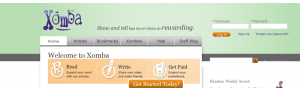 Article writing jobs from xomba