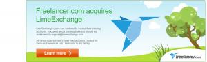 Limeexchange acuired by freelancer