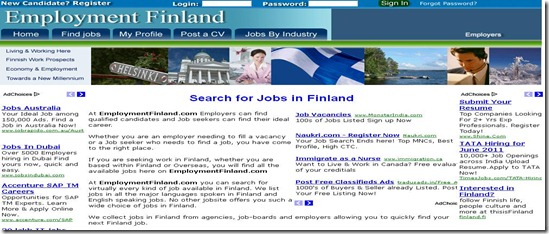 Employment finland