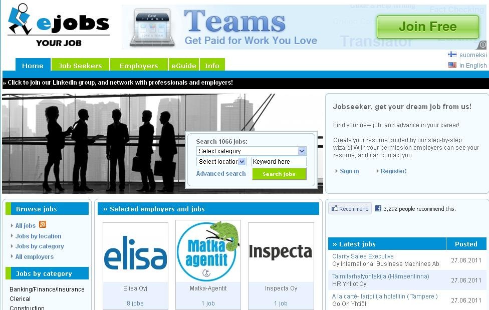 top rated job sites