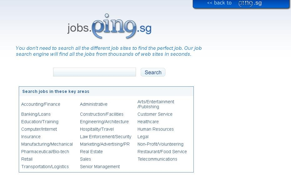 job search engines list
