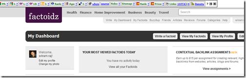 Writing Jobs from Factoidz