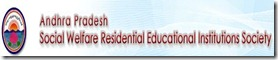 jobs in Andhrapradesh social welfare residential educational institutions society 2012
